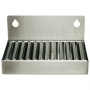 4 In stainless steel drip tray (2in back splash)